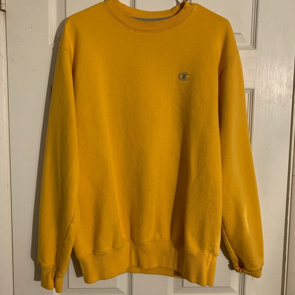 Yellow Champion Sweatshirt